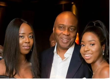 Photo Of Saraki and His Beautiful Daughters
