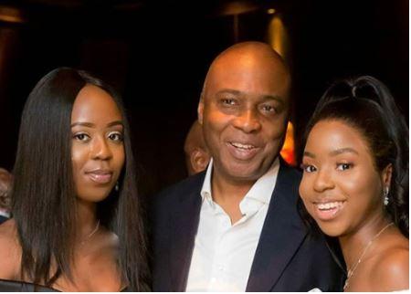Photo Of Saraki and His Beautiful Daughters