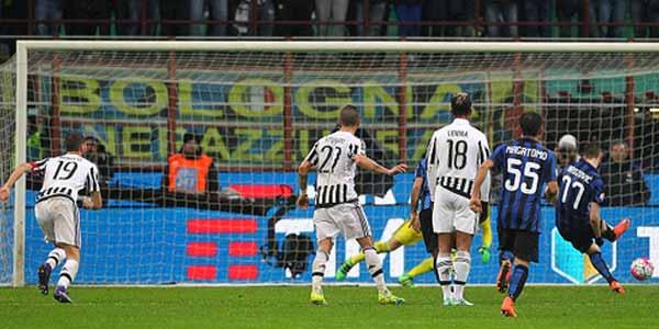 Inter Kalah Adu Penalti dari Juventus