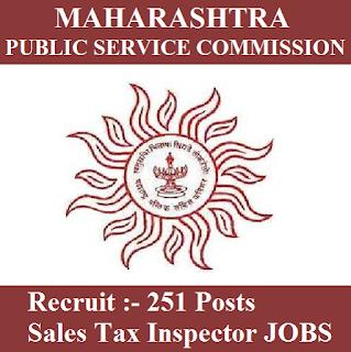 Maharashtra Public Service Commission, MPSC, PSC, Maharashtra, Sales Tax Inspector, Graduation, freejobalert, Sarkari Naukri, Latest Jobs, mpsc logo