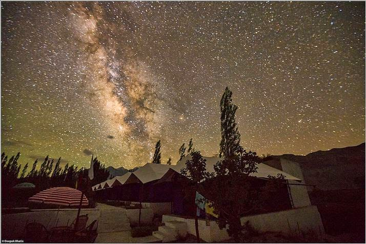 Milky Way at Nubra