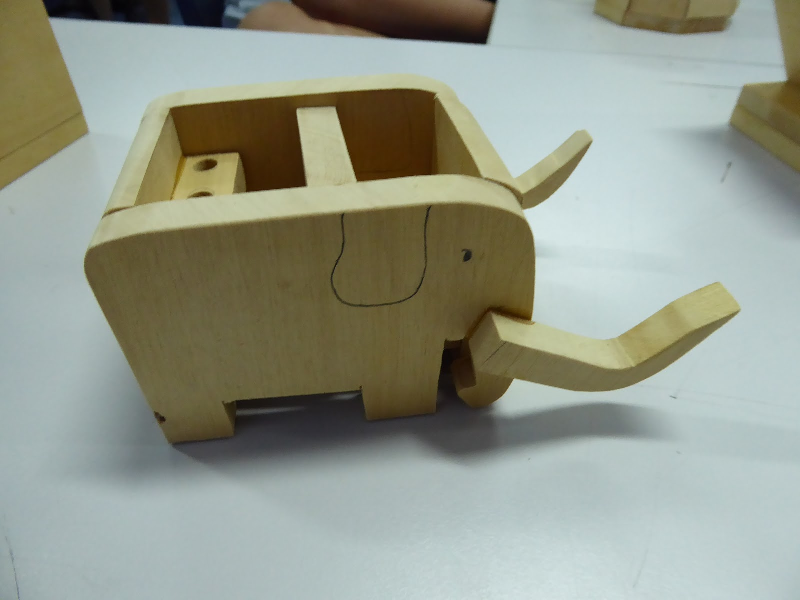 Fun With Design And Technology Secondary 1 Desk Tidy Using Wood Material