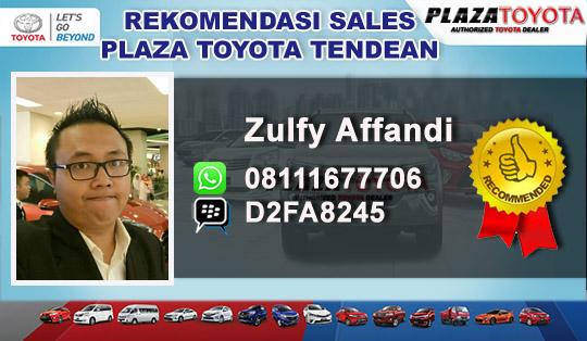 Rekomandasi Sales Toyota Tendean, Jakarta Selatan