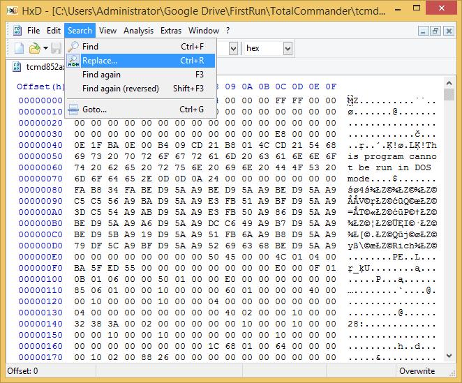 Total Commander silent install, detection method
