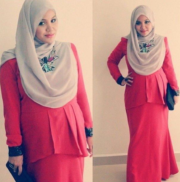 Contoh Baju Muslim Kantor Untuk Ibu Hamil
