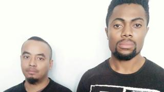Photo: Nigerian fraudster, accomplice arrested in India for duping a property dealer