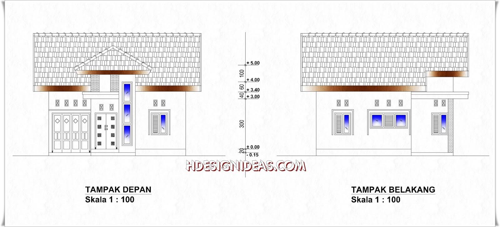 Desain Rumah Minimalis Tampak Depan Samping Wallpaper Dinding Denah Tinggal