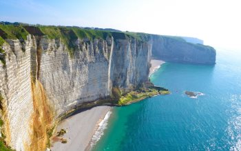 Wallpaper: Normandy coast