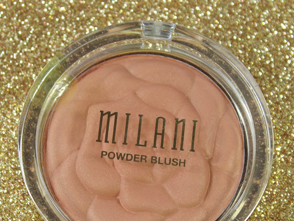 Milani Powder Blush - Warm Petals Swatch & Review