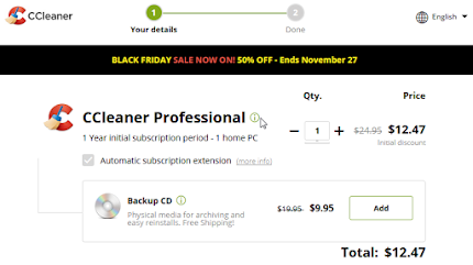 CCleaner coupon discount