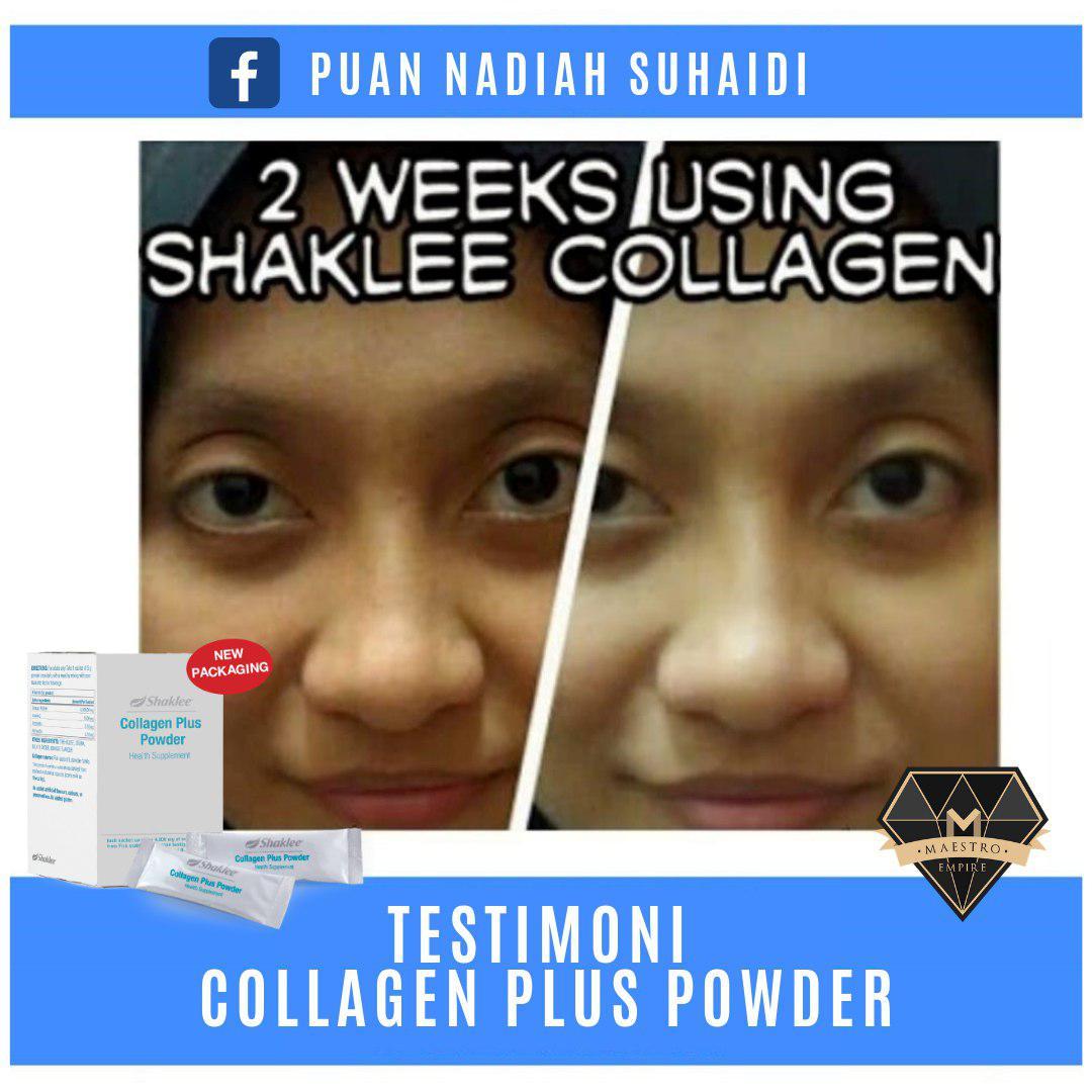 Testimoni Collagen Shaklee Kulit Cerah Seawal 2 Minggu