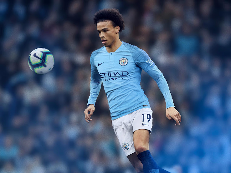 00592e8bc2f9 Manchester City 18-19 Home Kit Released - Footy Headlines