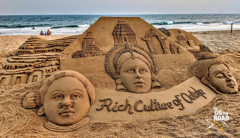 Rich Culture of Odisha through its Sand Art