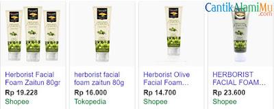 Herborist, Facial ,Foam ,Zaitun