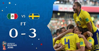 Meksiko vs Swedia 0-3 Highlights - Piala Dunia 2018