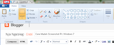 Cara Mudah Screenshot Pc Windows 7
