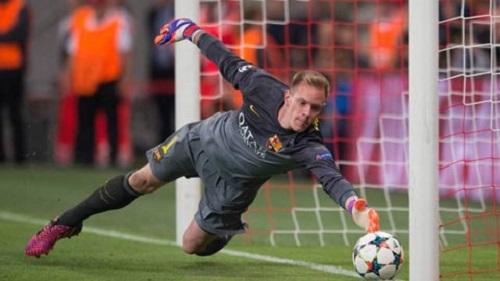 Ter Stegen là thủ môn để lọt lưới ít nhất