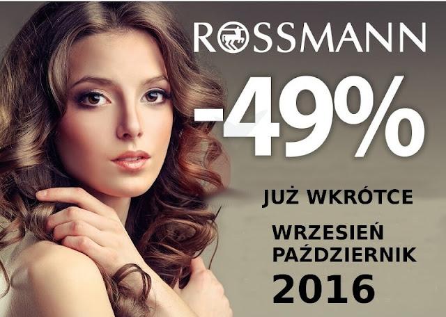 Co planuję kupić na promocji w Rossmannie?