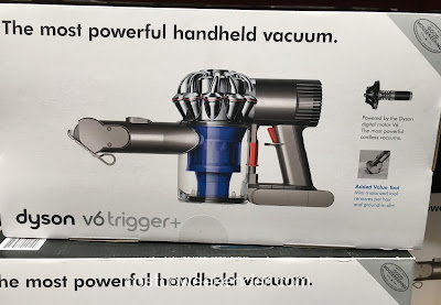 Dyson V6 Trigger+ Handheld Vacuum - A powerful vacuum in a portable package