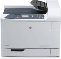 Der LaserJet CP6015dn Network Color Laser Drucker von HP enthält eine 30 Seiten pro Minute Druckgeschwindigkeit mit ersten Print-Out-Zeiten so schnell wie 11 secs