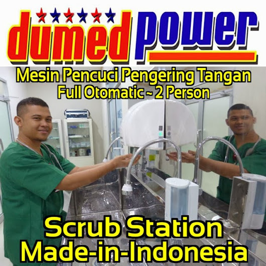 "AuToMaTiC SCRuB STaTioN 2 PeRSoN STaiNLeSS STeeL ""DumeDPoweR"""