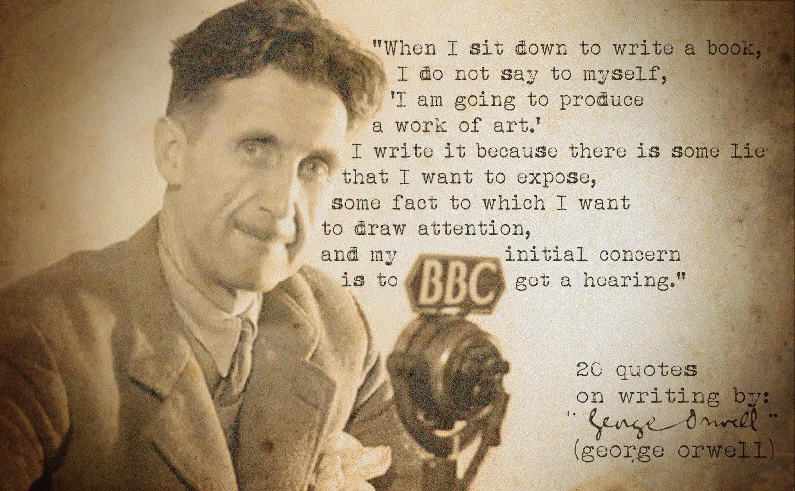 orwell essay on writing george orwell essay on writing