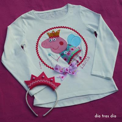 Camiseta personalizada Peppa Pig