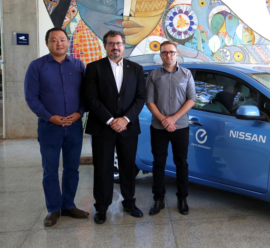 Nissan, ITAI y Parque Tecnológico de Itaipú firman acuerdo para promover soluciones de movilidad eléctrica en Brasil