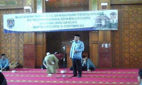 ASN Depok Dapat Pembinaan Baca Al-Quran
