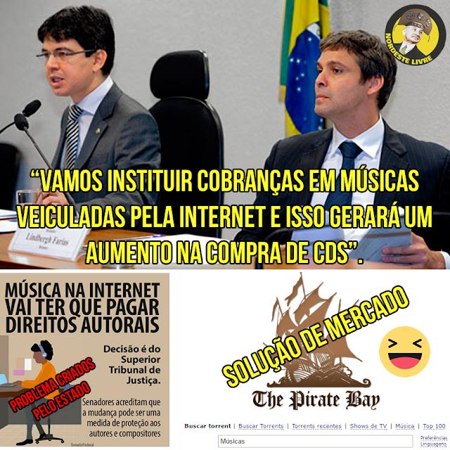 Randolfe Rodrigues e Lindberg Farias