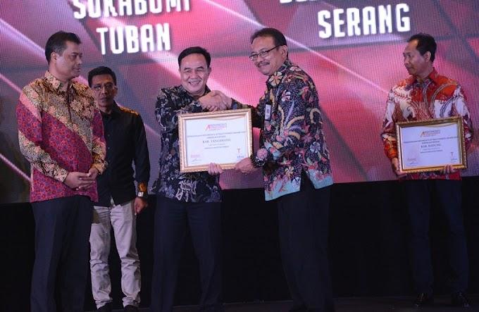 Kabupaten Tangerang Raih IAA 2017
