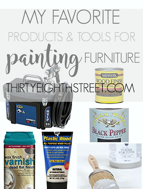 Favorite Furniture Painting Products and Tools