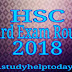 HSC Board Exam Routine 2018