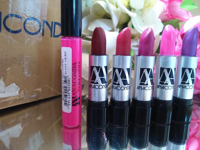 Batons matte da anaconda cosméticos-blog mania de coque