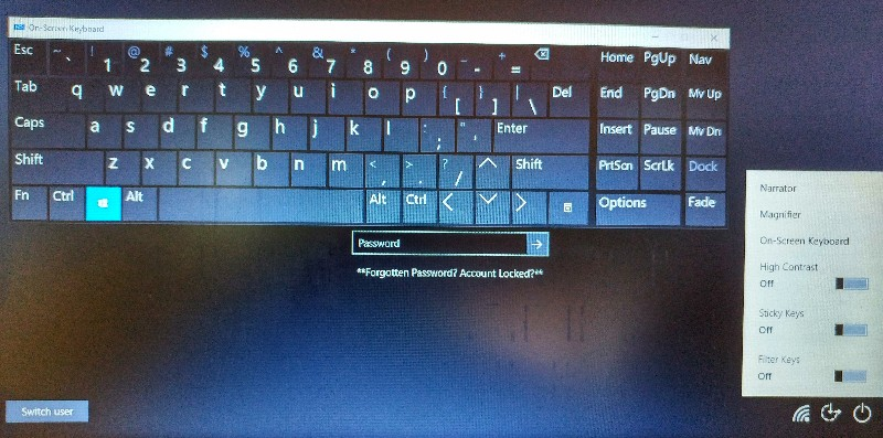 Cara menampilkan On Screen Keyboard Windows 10 - Windows Tent