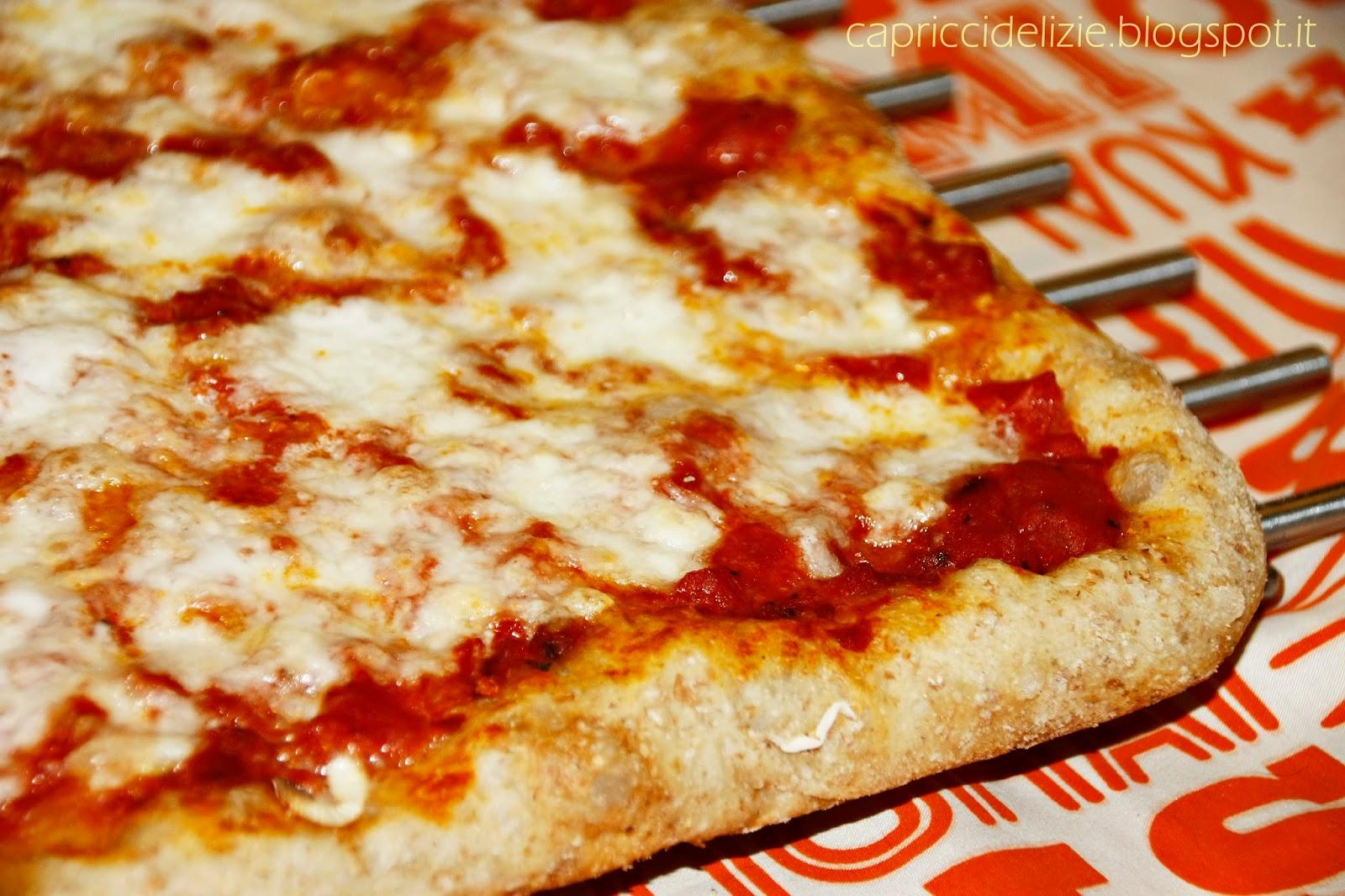 Capricci e Delizie: Pizza in teglia (ricetta di Gabriele ...