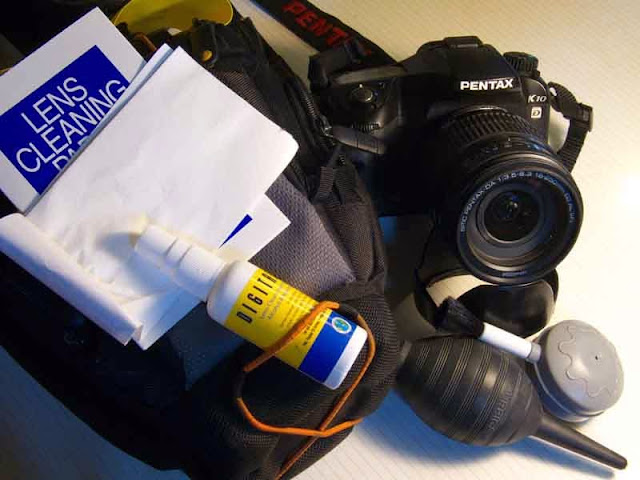 camera cleaning gear