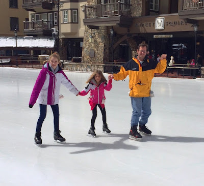Family Ice Skating in Beaver Creek Village | Live The Prep Life