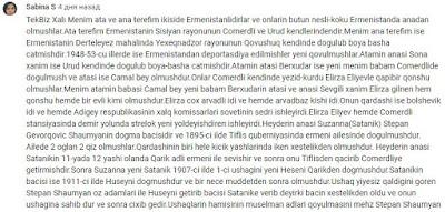Heydər Əliyevin soykökü haqqında maraqlı komment
