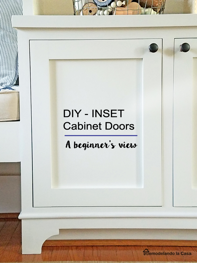 Diy Inset Cabinet Doors A Beginner S Way Remodelando