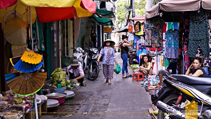 Ho Chi Minh Hem 353 Market