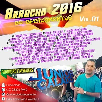 CD ARROCHA VOL.01 AS APAIXONANTES 20/02/2016 APOIO RESUMO DO MELODY