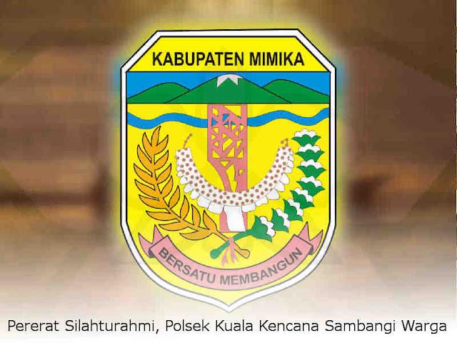Pererat Silahturahmi, Polsek Kuala Kencana Sambangi Warga