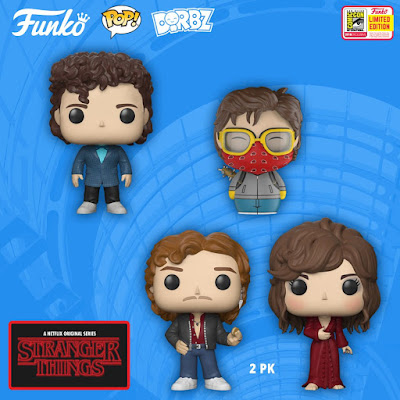 San Diego Comic-Con 2018 Exclusive Stranger Things POP! & Dorbz Vinyl Figures by Funko