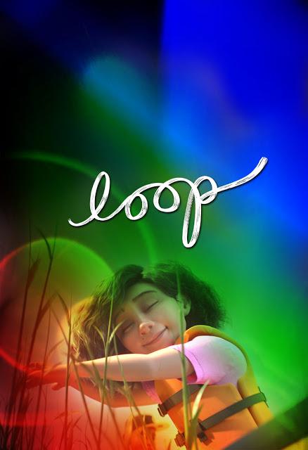 Pixar Loop Rainbow Poster