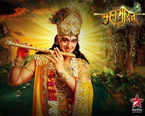 krishna, karishna Mahabharat TV  Serial Images