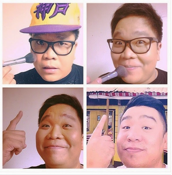 Jugs Jugueta #MakeUpTransformation to Vandolph Quizon