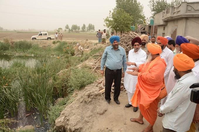 Gurdaspur District Villages to develop their ponds according to Seechewal Model.