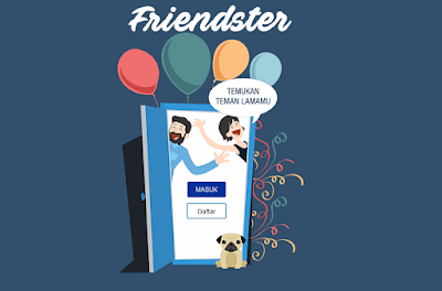 Halaman depan Friendster.id
