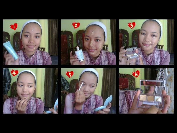 natural makeup: NEW 95 TUTORIAL MAKE UP NATURAL DENGAN WARDAH